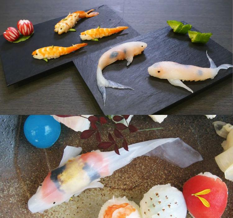lam sushi hinh ca chep 8